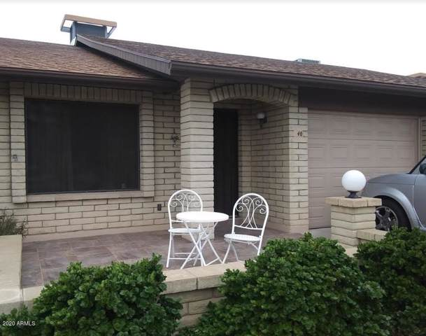 520 S Greenfield Road #40, Mesa, AZ 85206 (MLS #6026889) :: Brett Tanner Home Selling Team