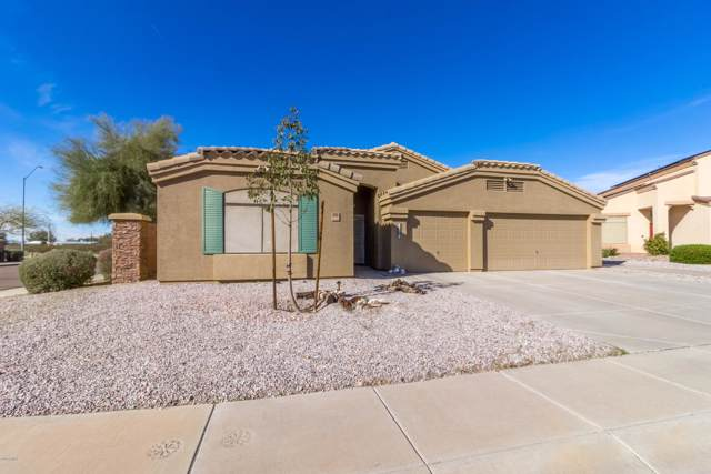 696 W Cobblestone Drive, Casa Grande, AZ 85122 (MLS #6027185) :: The Kenny Klaus Team