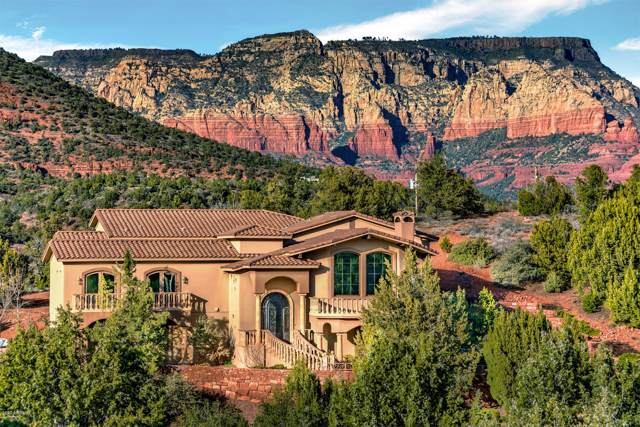 92 W W Mallard Drive Drive, Sedona, AZ 86336 (MLS #6028638) :: Kortright Group - West USA Realty
