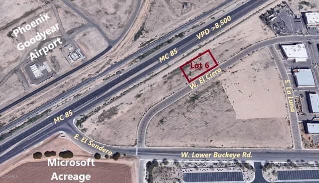 0 W Lot 6 Airport Commercenter Center, Goodyear, AZ 85338 (MLS #6029260) :: Brett Tanner Home Selling Team