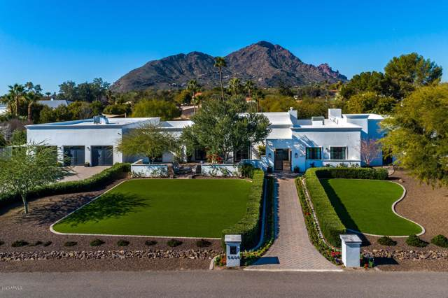 5600 N 69TH Place, Paradise Valley, AZ 85253 (MLS #6029265) :: Brett Tanner Home Selling Team