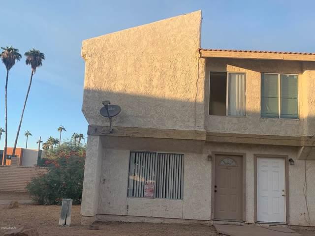 3840 N 43RD Avenue #43, Phoenix, AZ 85031 (MLS #6029348) :: Riddle Realty Group - Keller Williams Arizona Realty