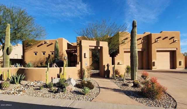 7130 E Saddleback Street #14, Mesa, AZ 85207 (MLS #6031254) :: Riddle Realty Group - Keller Williams Arizona Realty