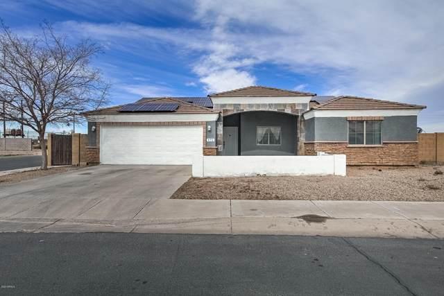 972 W Aztec Drive, Coolidge, AZ 85128 (MLS #6033265) :: Arizona Home Group