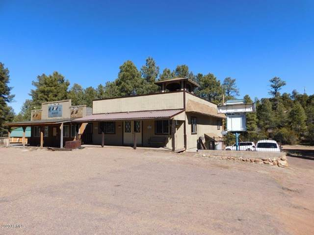 1900 State Route 260, Overgaard, AZ 85933 (MLS #6035163) :: Openshaw Real Estate Group in partnership with The Jesse Herfel Real Estate Group