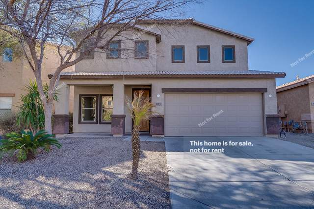 201 E Mule Train Trail, San Tan Valley, AZ 85143 (MLS #6035742) :: Riddle Realty Group - Keller Williams Arizona Realty