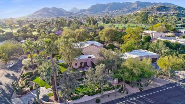 6830 N Desert Fairways Drive, Paradise Valley, AZ 85253 (MLS #6036880) :: Homehelper Consultants
