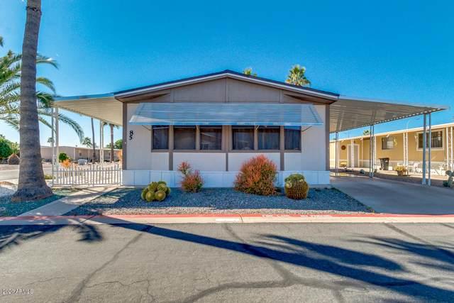 9828 E Pueblo Avenue #85, Mesa, AZ 85208 (MLS #6037293) :: Homehelper Consultants