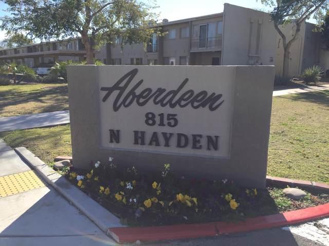 815 N Hayden Road A214, Scottsdale, AZ 85257 (MLS #6037308) :: Riddle Realty Group - Keller Williams Arizona Realty