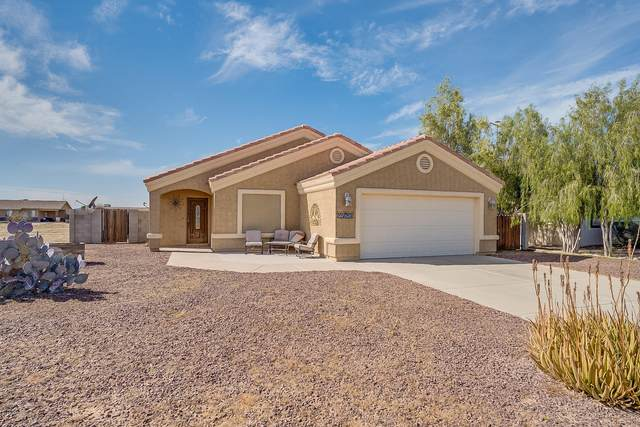 14710 S Vera Cruz Road, Arizona City, AZ 85123 (MLS #6038446) :: Homehelper Consultants