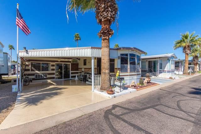 303 N Lindsay Road S-12, Mesa, AZ 85213 (MLS #6038576) :: Revelation Real Estate