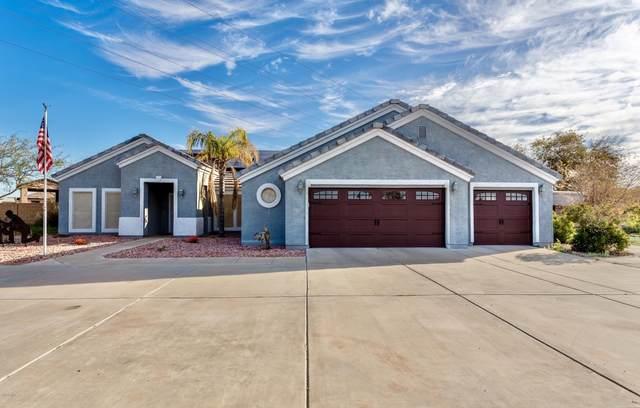 23040 W Hammond Drive, Buckeye, AZ 85326 (MLS #6040072) :: Brett Tanner Home Selling Team