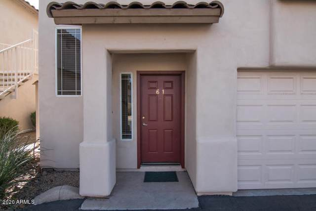 9750 N Monterey Drive #61, Fountain Hills, AZ 85268 (MLS #6040815) :: Brett Tanner Home Selling Team