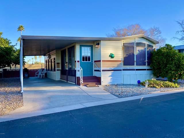 7750 E Broadway Road #669, Mesa, AZ 85208 (MLS #6040986) :: Lucido Agency