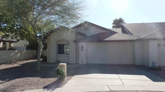 5518 E Lindstrom Lane #38, Mesa, AZ 85215 (MLS #6041759) :: CC & Co. Real Estate Team