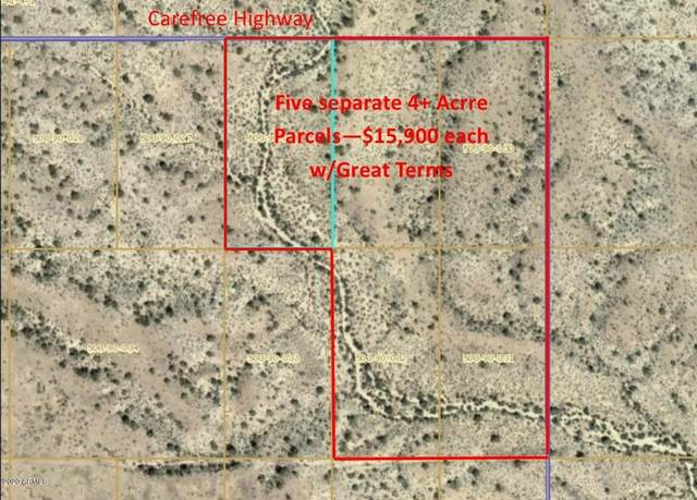 292XX W Carefree Highway, Wittmann, AZ 85361 (MLS #6042615) :: Yost Realty Group at RE/MAX Casa Grande
