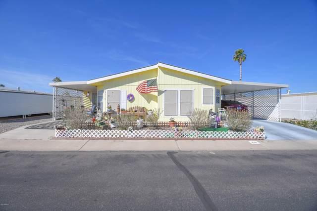 2100 N Trekell Road #152, Casa Grande, AZ 85122 (MLS #6042725) :: Brett Tanner Home Selling Team