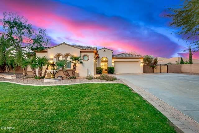 2898 E Canyon Creek Court, Gilbert, AZ 85295 (MLS #6043016) :: Santizo Realty Group