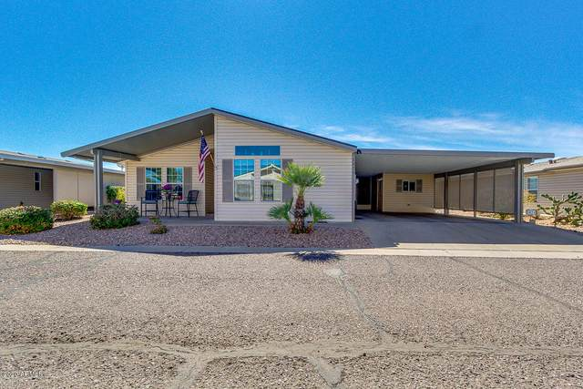 3301 S Goldfield Road #1021, Apache Junction, AZ 85119 (MLS #6043550) :: Brett Tanner Home Selling Team