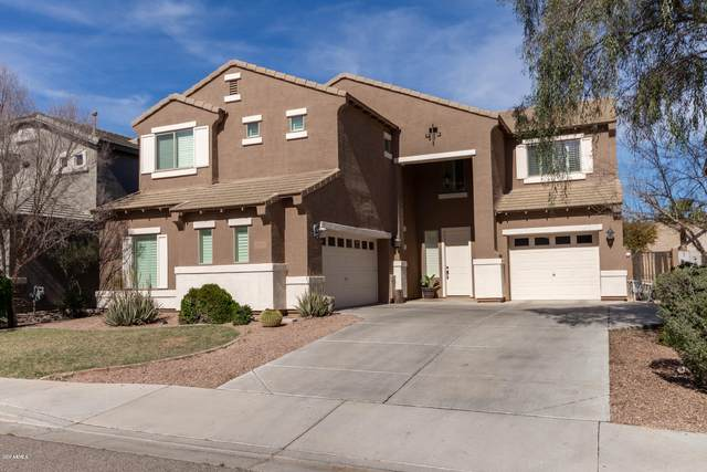 108 W Pasture Canyon Drive, San Tan Valley, AZ 85143 (MLS #6046957) :: Brett Tanner Home Selling Team