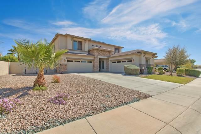 19091 N Falcon Lane, Maricopa, AZ 85138 (MLS #6047215) :: Brett Tanner Home Selling Team