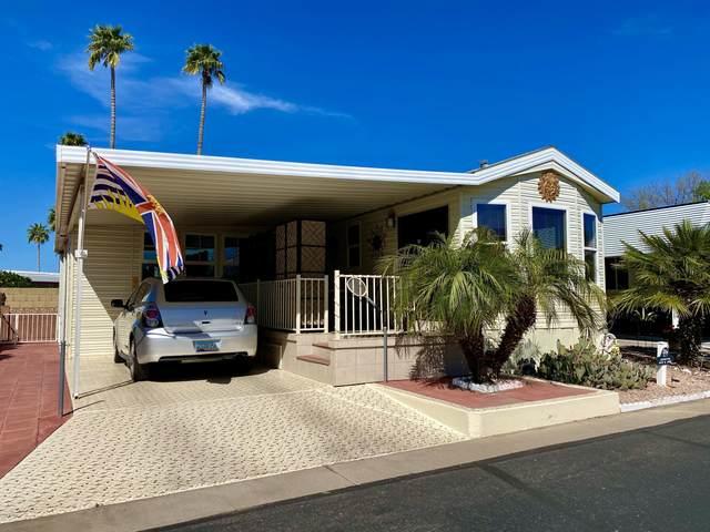 7750 E Broadway Road #671, Mesa, AZ 85208 (MLS #6048249) :: Lucido Agency
