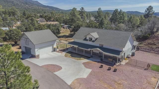 4270 N Pine Creek Canyon Road, Pine, AZ 85544 (MLS #6048869) :: Conway Real Estate