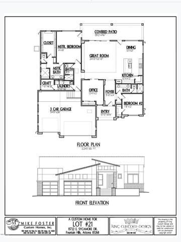 15722 E Sycamore Drive, Fountain Hills, AZ 85268 (MLS #6050782) :: Revelation Real Estate