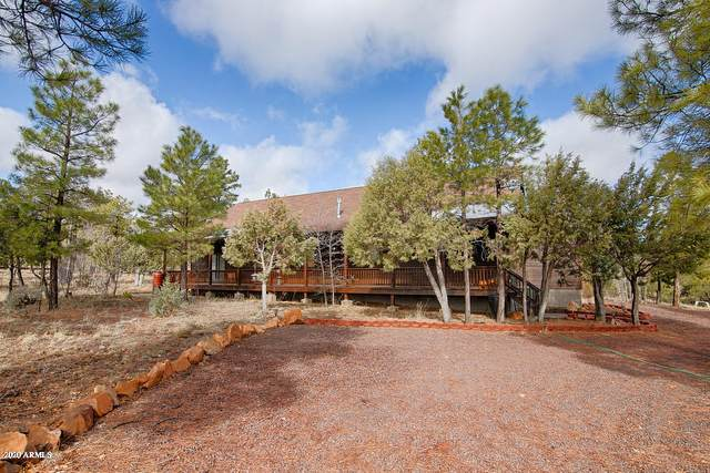 2712 Lost Way, Overgaard, AZ 85933 (MLS #6051197) :: Long Realty West Valley