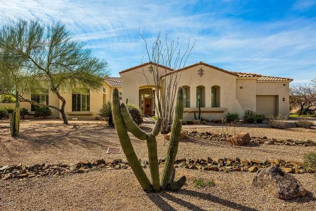 8357 E Arroyo Seco Road, Scottsdale, AZ 85266 (MLS #6052052) :: Scott Gaertner Group