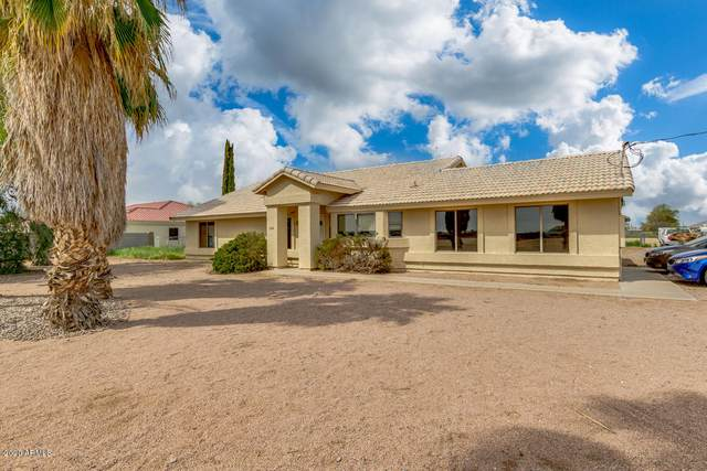 15712 E Chandler Heights Road, Gilbert, AZ 85298 (MLS #6052596) :: Long Realty West Valley