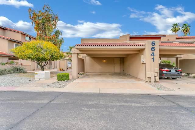 5641 N 79TH Street #1, Scottsdale, AZ 85250 (MLS #6054998) :: Brett Tanner Home Selling Team