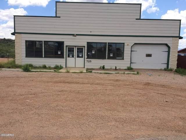 725 E Allen Street, Tombstone, AZ 85638 (MLS #6055556) :: Riddle Realty Group - Keller Williams Arizona Realty