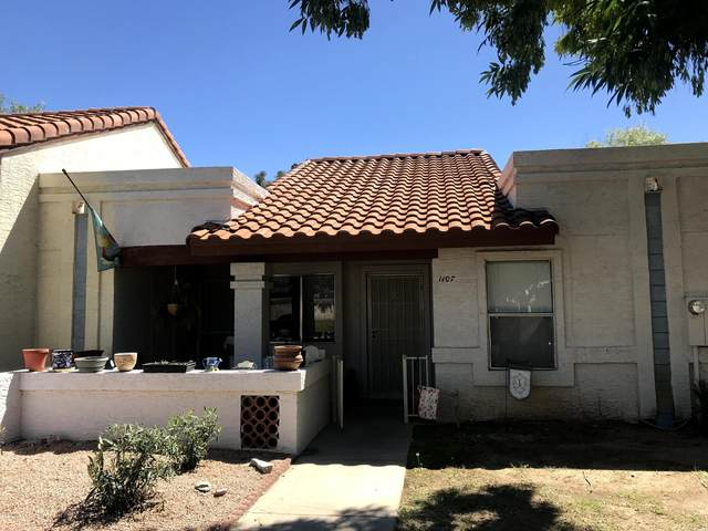 5136 E Evergreen Street #1107, Mesa, AZ 85205 (MLS #6059536) :: Long Realty West Valley