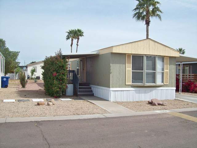12721 W Greenway Road #110, El Mirage, AZ 85335 (MLS #6059675) :: Conway Real Estate