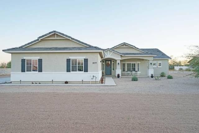 2177 W Dixon Lane, Queen Creek, AZ 85142 (MLS #6060335) :: The Kenny Klaus Team