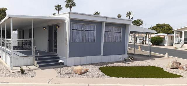 2460 E Main Street G17, Mesa, AZ 85213 (MLS #6060579) :: Brett Tanner Home Selling Team