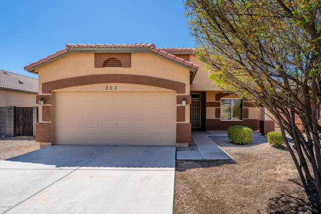 203 3RD Avenue E, Buckeye, AZ 85326 (MLS #6060590) :: Brett Tanner Home Selling Team