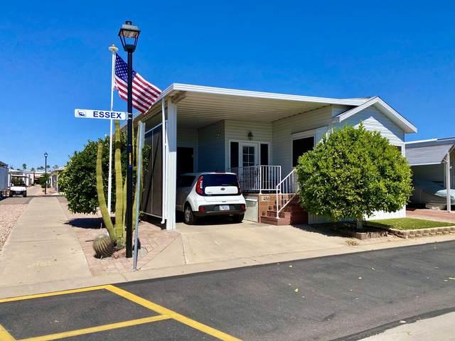 7750 E Broadway Road #486, Mesa, AZ 85208 (MLS #6060674) :: Lucido Agency