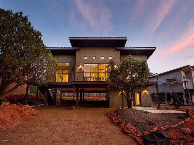 415 Chavez Ranch Road, Sedona, AZ 86336 (MLS #6060795) :: Lux Home Group at  Keller Williams Realty Phoenix