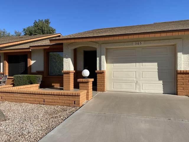 8160 E Keats Avenue #365, Mesa, AZ 85209 (MLS #6061052) :: Brett Tanner Home Selling Team