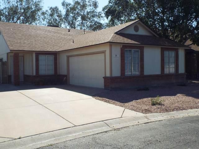 1111 N 64TH Street #24, Mesa, AZ 85205 (MLS #6061358) :: The Laughton Team