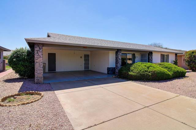 811 Leisure World, Mesa, AZ 85206 (MLS #6062190) :: Homehelper Consultants
