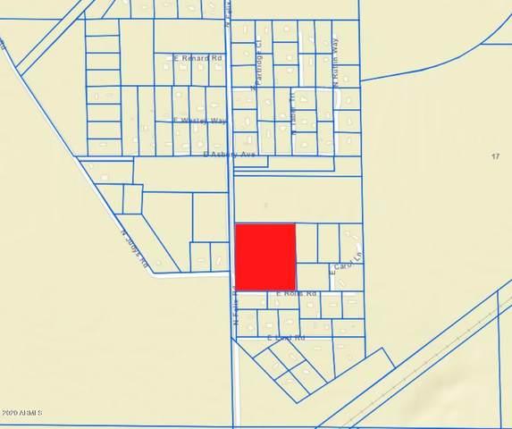 0 N Felix Road, Queen Creek, AZ 85143 (MLS #6063405) :: Revelation Real Estate