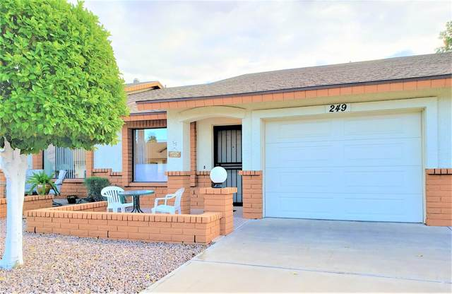 8021 E Keats Avenue #249, Mesa, AZ 85209 (MLS #6063667) :: The Daniel Montez Real Estate Group