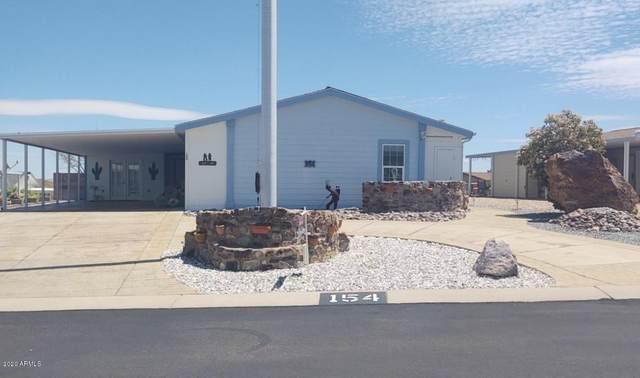1030 S Barrel Cactus Ridge #154, Benson, AZ 85602 (MLS #6067890) :: Yost Realty Group at RE/MAX Casa Grande