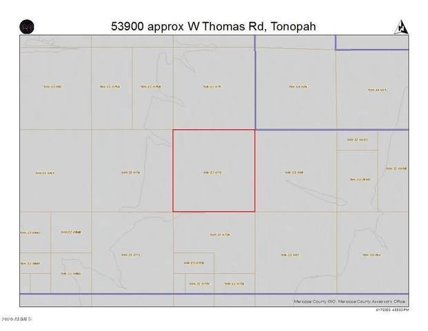 53900 appx W Thomas Road, Tonopah, AZ 85354 (MLS #6068406) :: The Results Group