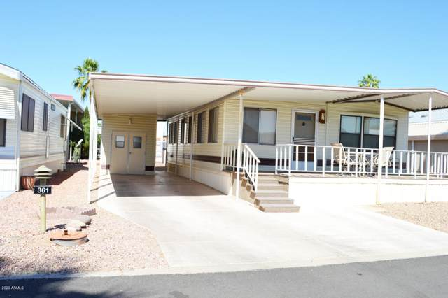 17200 W Bell Road #361, Surprise, AZ 85374 (MLS #6073772) :: Long Realty West Valley