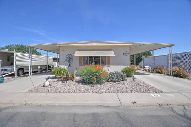 2100 N Trekell Road #24, Casa Grande, AZ 85122 (MLS #6075319) :: Brett Tanner Home Selling Team