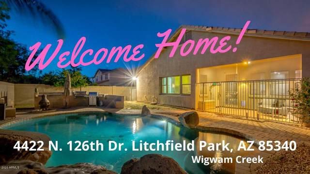 4422 N 126TH Drive, Litchfield Park, AZ 85340 (MLS #6075591) :: The C4 Group